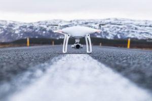 Drohne Aufstieg