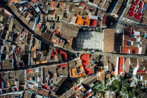 Top Down Drohnen Fotografie