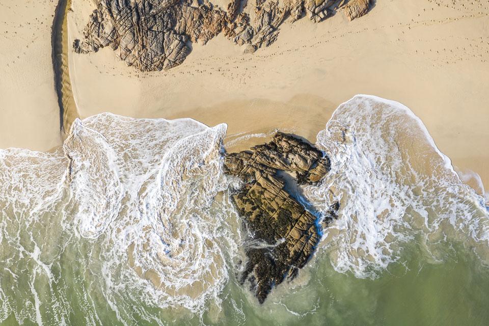 Drohnen Fotografie Top Down