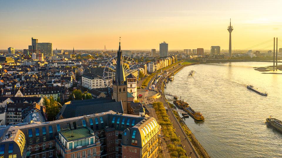 Drohnen Fotografie in Düsseldorf