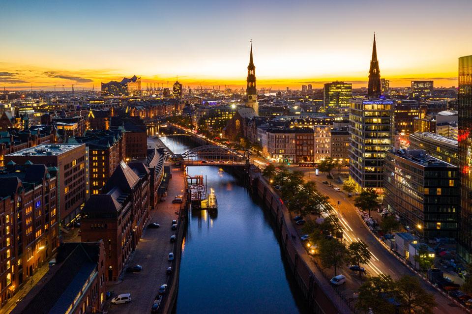 Drohnen Fotografie in Hamburg