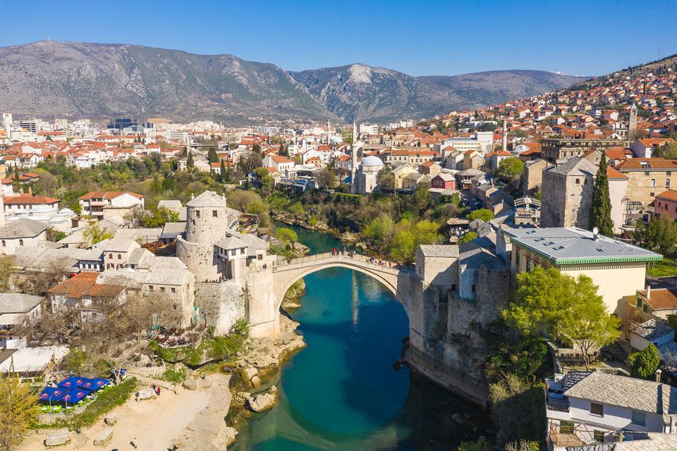Drohnen Fotografie Mostar