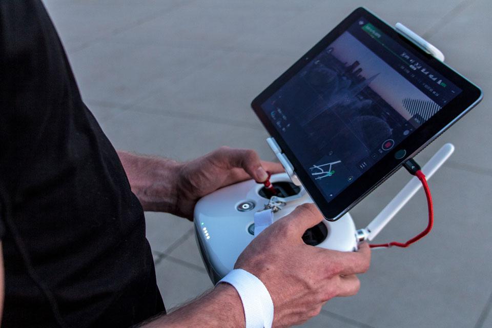 Fernbedienung der Drohne