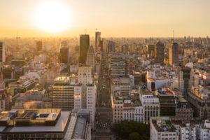 Buenos Aires Luftaufnahme