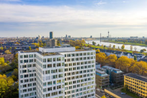 Düsseldorf Fotografie mit Drohne