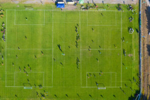 Eventfotos mit Hilfe von Drohnen