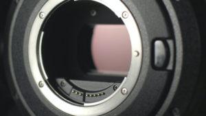 Sensor einer Kamera