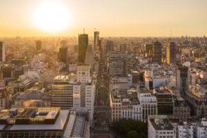 Drohnenaufnahme in Argentinien