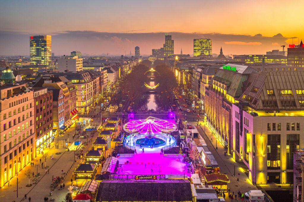 Drohnen Foto Düsseldorf