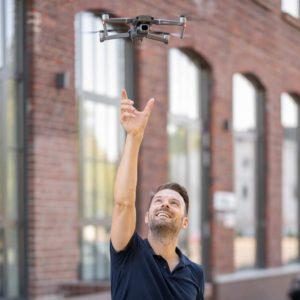 Fotograf Drohne Portrait